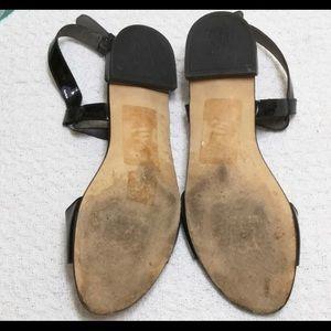 Stuart Weitzman Shoes - Stuart Weitzman flat black sandals size 7